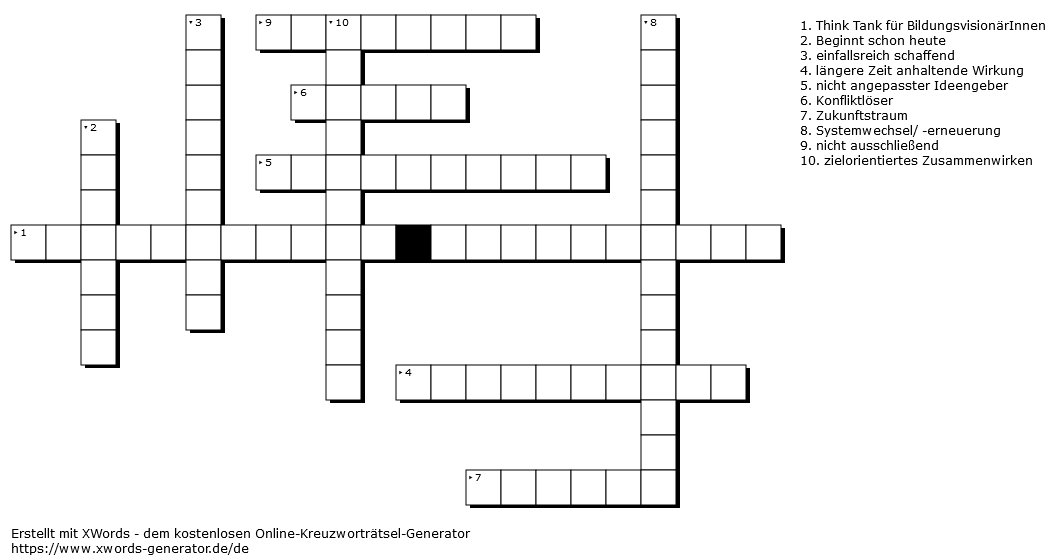 21. Dezember Kreuzworträtsel